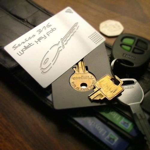 Klíče do peněženky