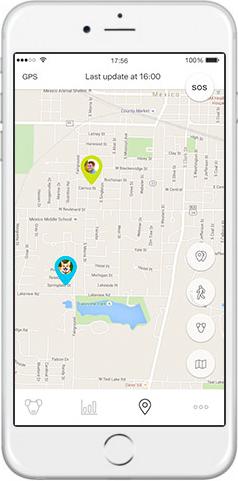 Mishiko GPS obojek a měřič aktivity