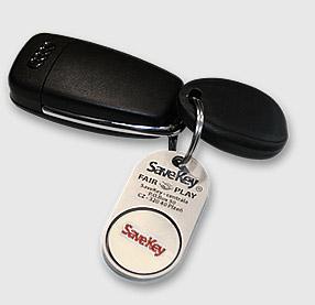 SaveKey - klíče od auta